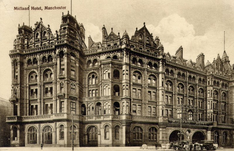 Manchester The Midland Hotel 1 Ghostly Tom S Travel