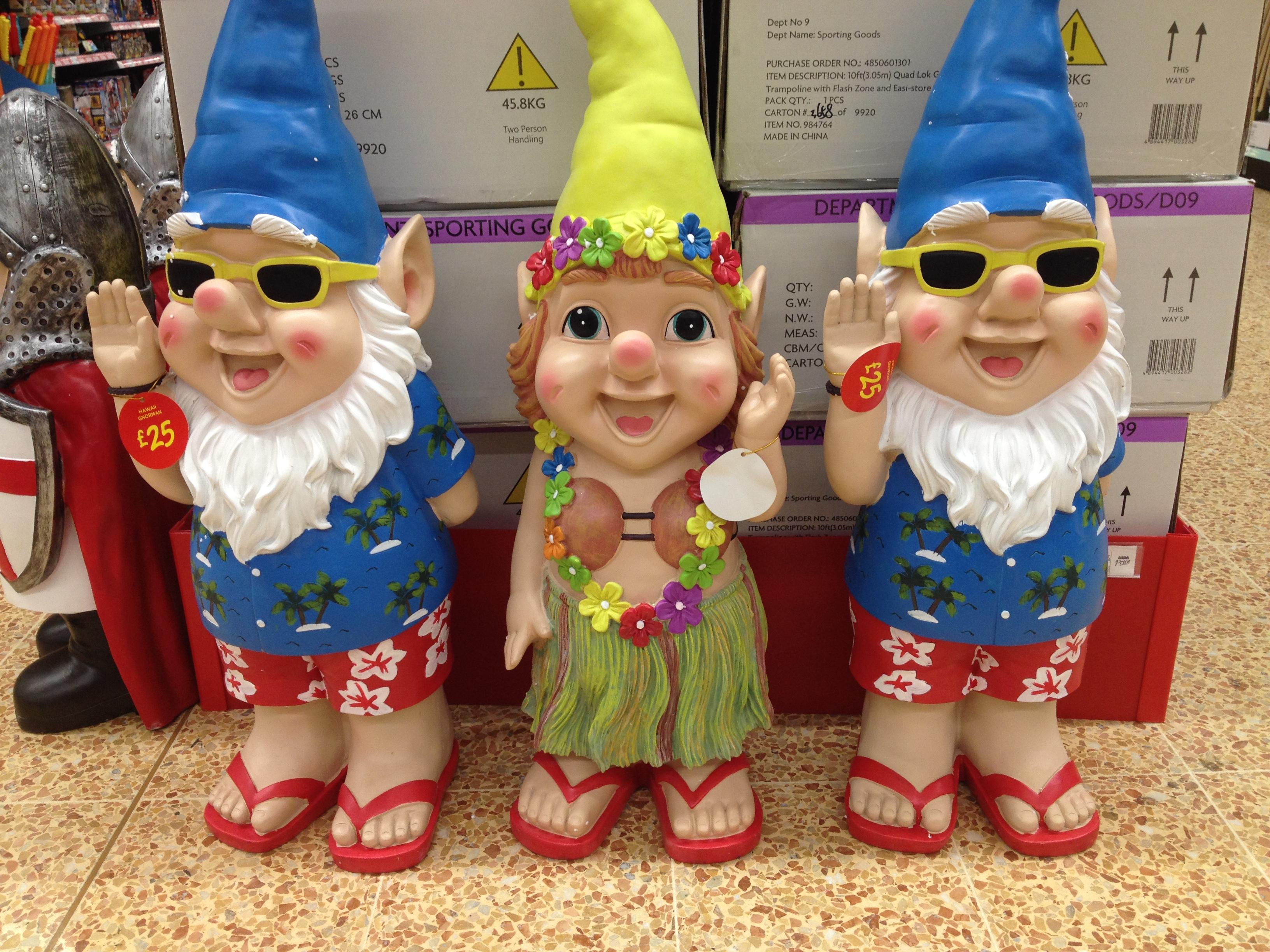 Large Garden Gnome Asda Designs